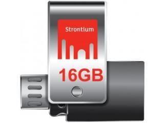 Strontium Nitro SR16GSLOTG1Z 16GB USB 3.0 Pen Drive Price in India