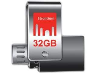 Strontium Nitro Plus SR32GSLOTG1Z 32GB USB 3.0 Pen Drive Price in India