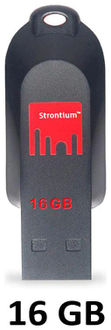 Strontium Pollex 16GB USB 2.0 Pen Drive Price in India