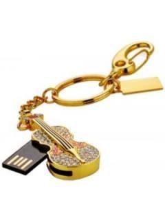 Microware Golden Guitar Shape 16GB USB 2.0 Pen Drive Price in India