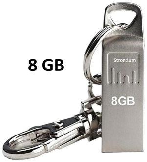 Strontium Ammo 8GB USB 2.0 Pen Drive Price in India