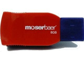 moserbaer Racer 8GB USB 2.0 Pen Drive Price in India