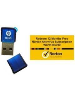 HP V165W 16GB USB 2.0 Pen Drive Price in India