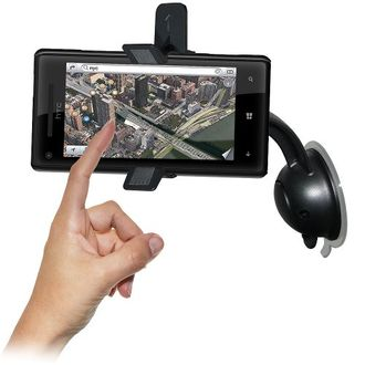 Amzer Car Mount and Case for HTC 8X (95697) Price in India