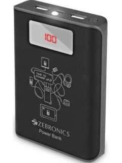 Zebronics ZEB-PG10000D 10000mAh Power Bank Price in India