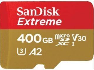 SanDisk SDSQXA1-400G-GN6MA 400 Class 10 MicroSDXC Memory Card Price in India