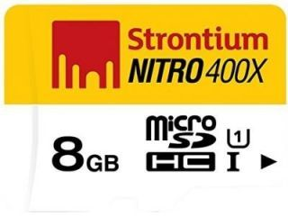Strontium Nitro 400X 8GB Class 10 MicroSDHC Memory Card Price in India