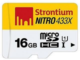 Strontium Nitro 433x 16GB Class 10 MicroSDHC Memory Card Price in India