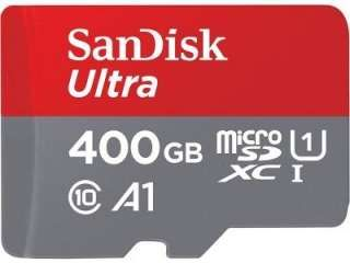 SanDisk SDSQUAR-400G-GN6MA 400GB Class 10 MicroSDXC Memory Card Price in India
