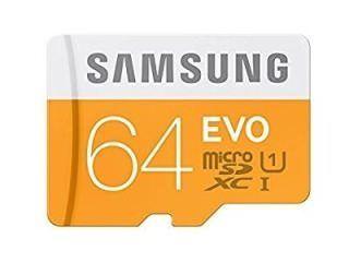 Samsung MB-MP64DAEU 64GB Class 10 MicroSDXC Memory Card Price in India