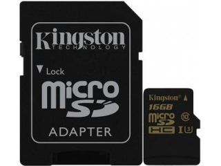 Kingston SDCG/16GB 16GB Class 10 MicroSD Memory Card Price in India