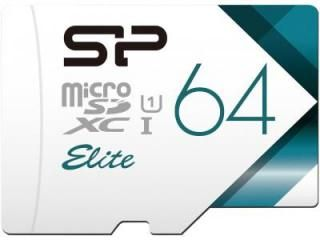 Silicon Power SP064GBSTXBU1V20BS 64GB Class 10 MicroSDXC Memory Card Price in India