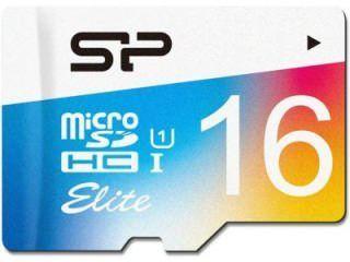 Silicon Power SP016GBSTHBU1V20UR 16GB Class 10 MicroSDHC Memory Card Price in India