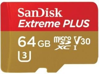 SanDisk SDSQXWG-064G-ANCMA 64GB Class 10 MicroSDXC Memory Card Price in India