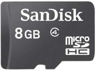 SanDisk SDSDQM-008G-B35 8GB Class 4 MicroSDHC Memory Card Price in India