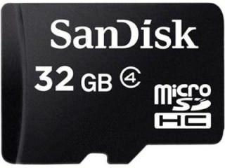 SanDisk SDSDQM-0032G-B35 32GB Class 4 MicroSDHC Memory Card Price in India