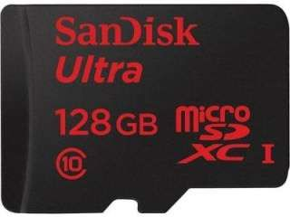 SanDisk SDSQUNC-128G-GN6MA 128GB Class 10 MicroSDXC Memory Card Price in India