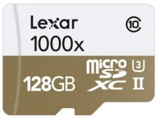 Lexar LSDMI128CBNL1000R 128GB Class 10 MicroSDXC Memory Card Price in India