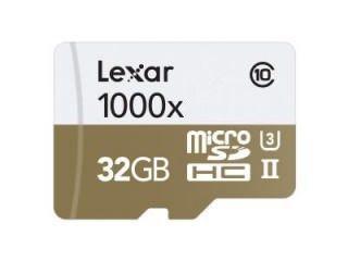 Lexar LSDMI32GCBNL1000R 32GB Class 10 MicroSDHC Memory Card Price in India