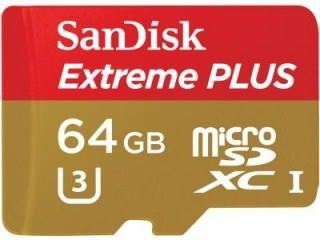 SanDisk SDSQXSG-064G 64GB Class 10 MicroSDXC Memory Card Price in India