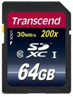 Transcend TS64GSDXC10E 64GB Class 10 MicroSDHC Memory Card Price in India