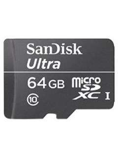 SanDisk SDSDQL-064G 64GB Class 10 MicroSDXC Memory Card Price in India