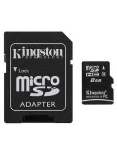 Kingston SDC4/8GB 8GB Class 4 MicroSDHC Memory Card Price in India