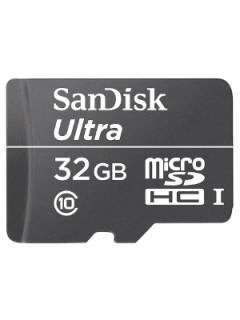 SanDisk SDSDQL-032G 32GB Class 10 MicroSDHC Memory Card Price in India