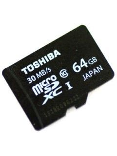 Toshiba SD-C064UHS1 64GB Class 10 MicroSDXC Memory Card Price in India