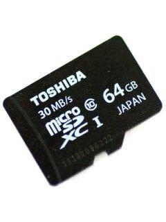 Toshiba SD-C064UHS1 64GB Class 10 MicroSDXC Memory Card Price in India