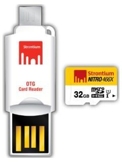 Strontium SRN32GTFU1T 32GB Class 10 MicroSDHC Memory Card Price in India