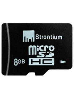 Strontium SR8GTFC4A 8GB Class 4 MicroSDHC Memory Card Price in India