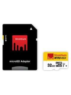 Strontium SRN32GTFU1 32GB Class 10 MicroSDHC Memory Card Price in India