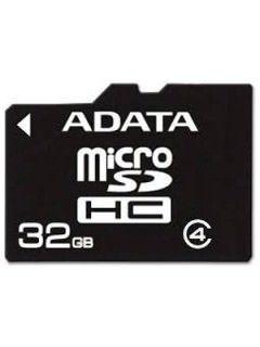 AData AUSDH32GCL4-R 32GB Class 4 MicroSDHC Memory Card Price in India