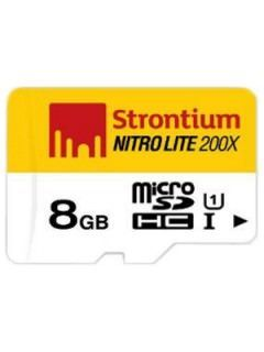 Strontium SRL8GTFU1 8GB Class 10 MicroSDHC Memory Card Price in India