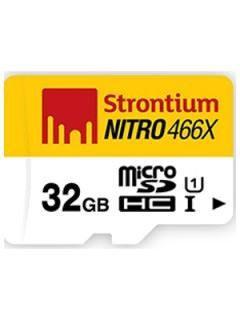 Strontium SRN32GTFU1C 32GB Class 10 MicroSDHC Memory Card Price in India