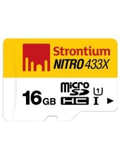 Strontium SRN16GTFU1C 16GB Class 10 MicroSDHC Memory Card Price in India