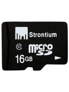 Strontium SR16GTFC10R 16GB Class 10 MicroSDHC Memory Card Price in India