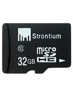 Strontium SR32GTFC10R 32GB Class 10 MicroSDHC Memory Card Price in India