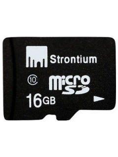 Strontium SR16GTFC10A 16GB Class 10 MicroSDHC Memory Card Price in India