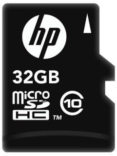 HP L1892A-GE 32GB Class 10 MicroSDHC Memory Card Price in India