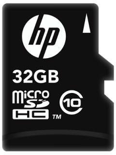 HP L1892A-GE 32GB Class 10 MicroSDHC Memory Card Price in India
