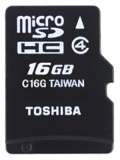 Toshiba SD-C16GJ 16GB Class 4 MicroSD Memory Card Price in India