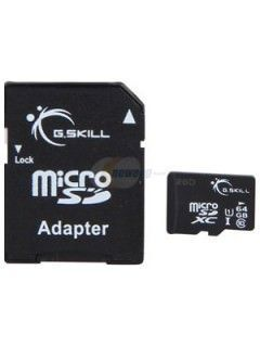 G.Skill FF-TSDXC64GA-U1 64GB Class 10 MicroSDXC Memory Card Price in India