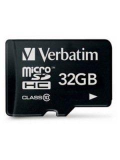 Verbatim 44083 32GB Class 10 MicroSDHC Memory Card Price in India
