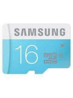 Samsung MB-MS16D 16GB Class 6 MicroSDHC Memory Card Price in India
