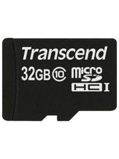 Transcend TS32GUSDC10 32GB Class 10 MicroSDHC Memory Card Price in India
