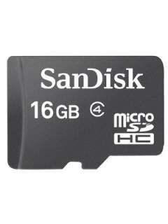 SanDisk SDSDQ-016G 16GB Class 4 MicroSDHC Memory Card Price in India
