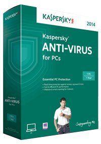 Kaspersky Anti-Virus 2014 1 PC 1 Year Price in India