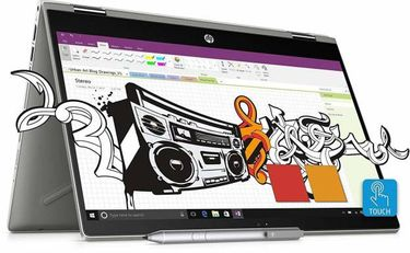 HP Pavilion x360 14-cd0077tu (4LR21PA) Laptop (14 Inch | Core i3 8th Gen | 4 GB | Windows 10 | 1 TB HDD 8 GB SSD) Price in India
